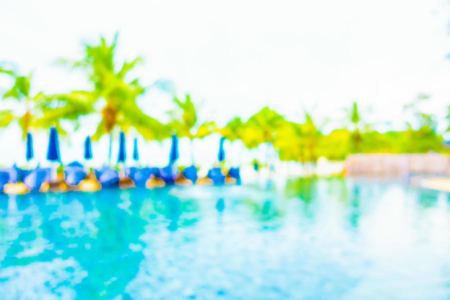 piscine de flou abstrait photo