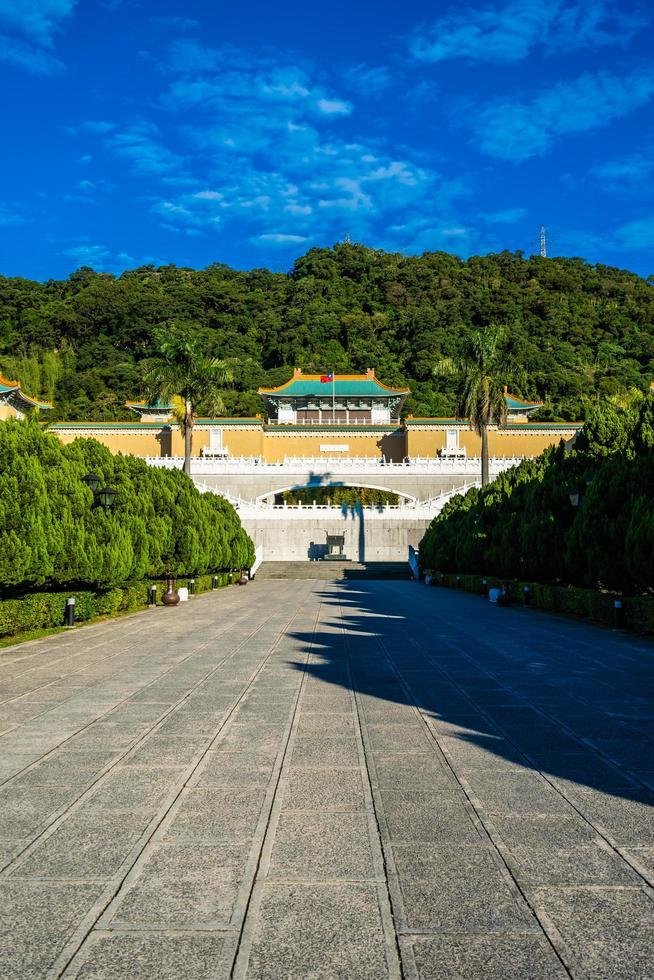 Musée du palais national de Taipei à Taiwan photo