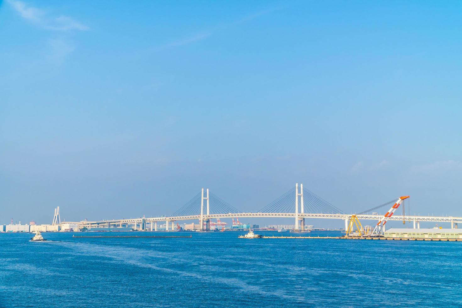 Pont de Yokohama à Yokohama, Japon photo