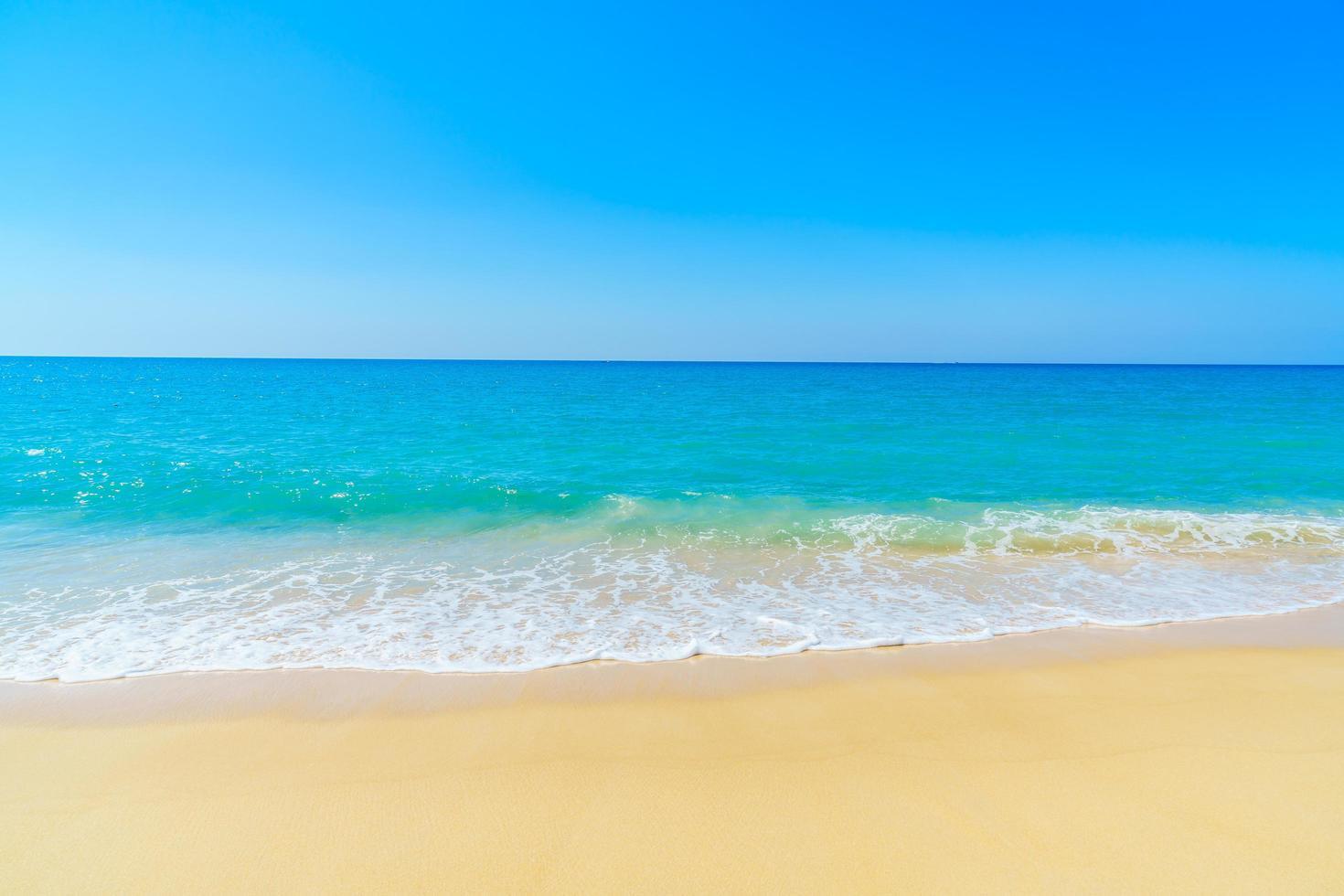 belle plage et mer photo