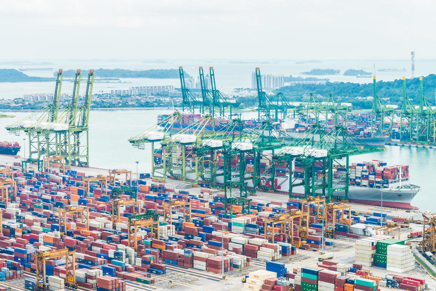 port d'expédition de singapour photo