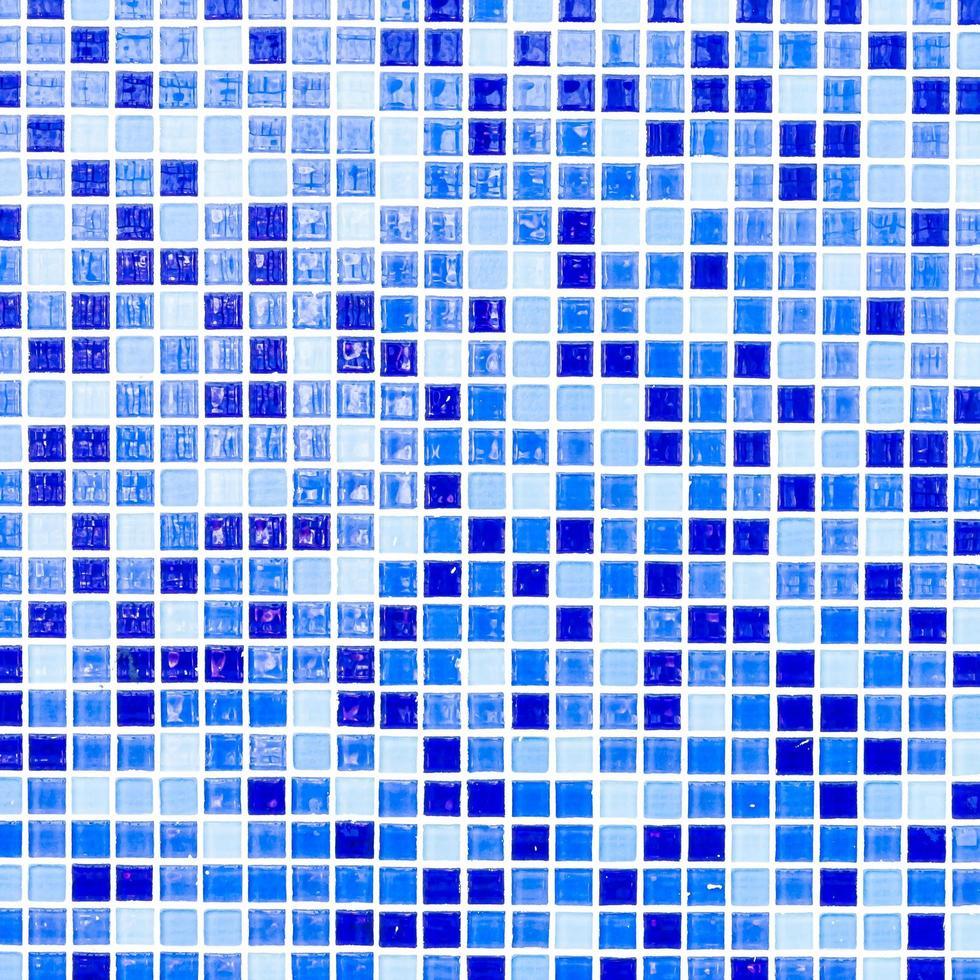 carreaux de mosaïque colorés photo