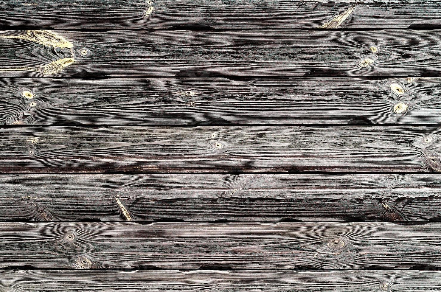 Modèle de vieilles planches de bois avec de la peinture jaune photo