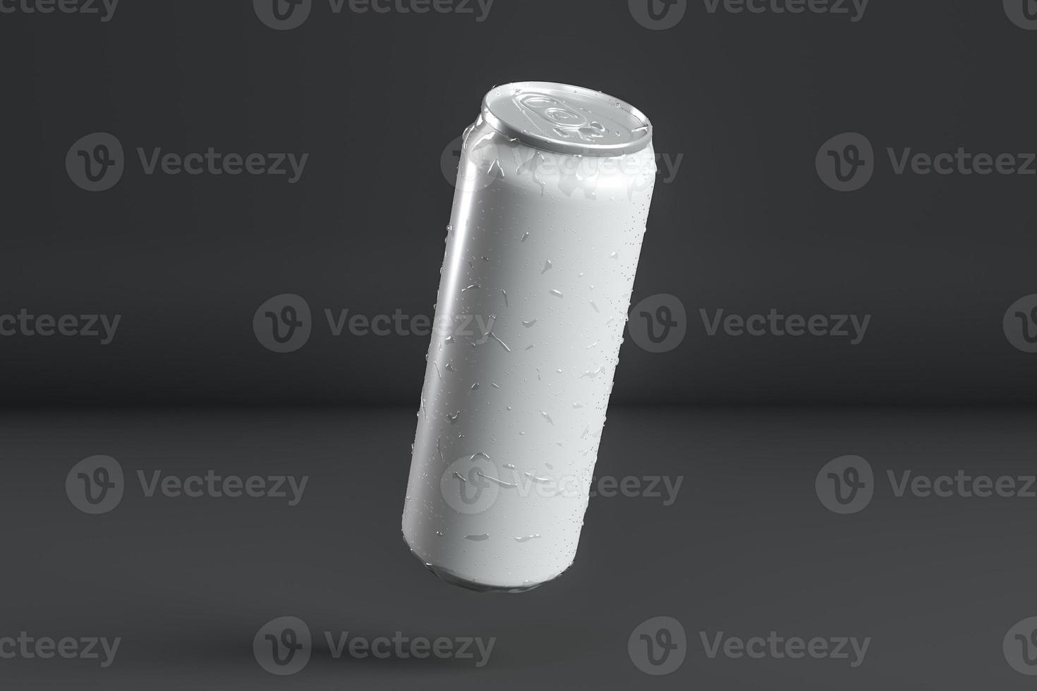 présentation de canettes en aluminium. résolution et belle photo de haute qualité