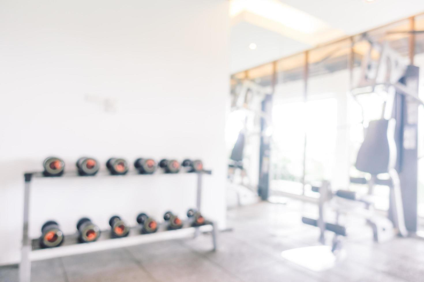salle de gym flou abstrait photo