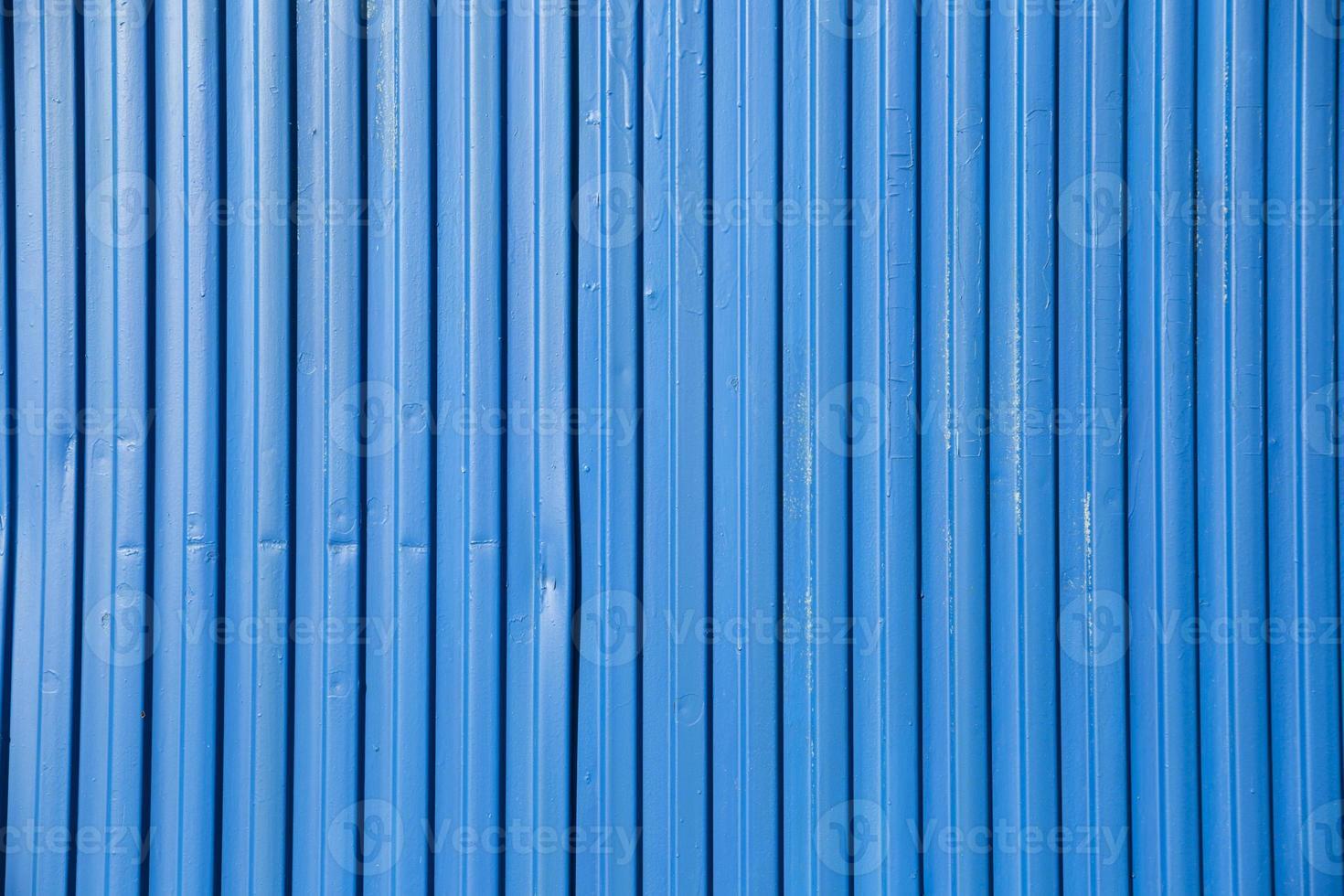 récipient bleu vif photo
