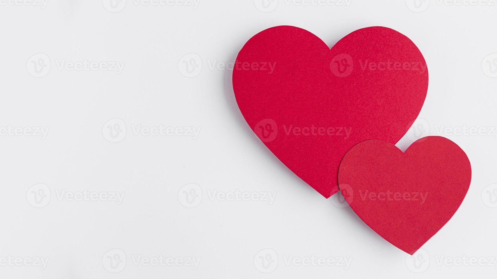 saint valentin avec concept d & # 39; espace de copie photo