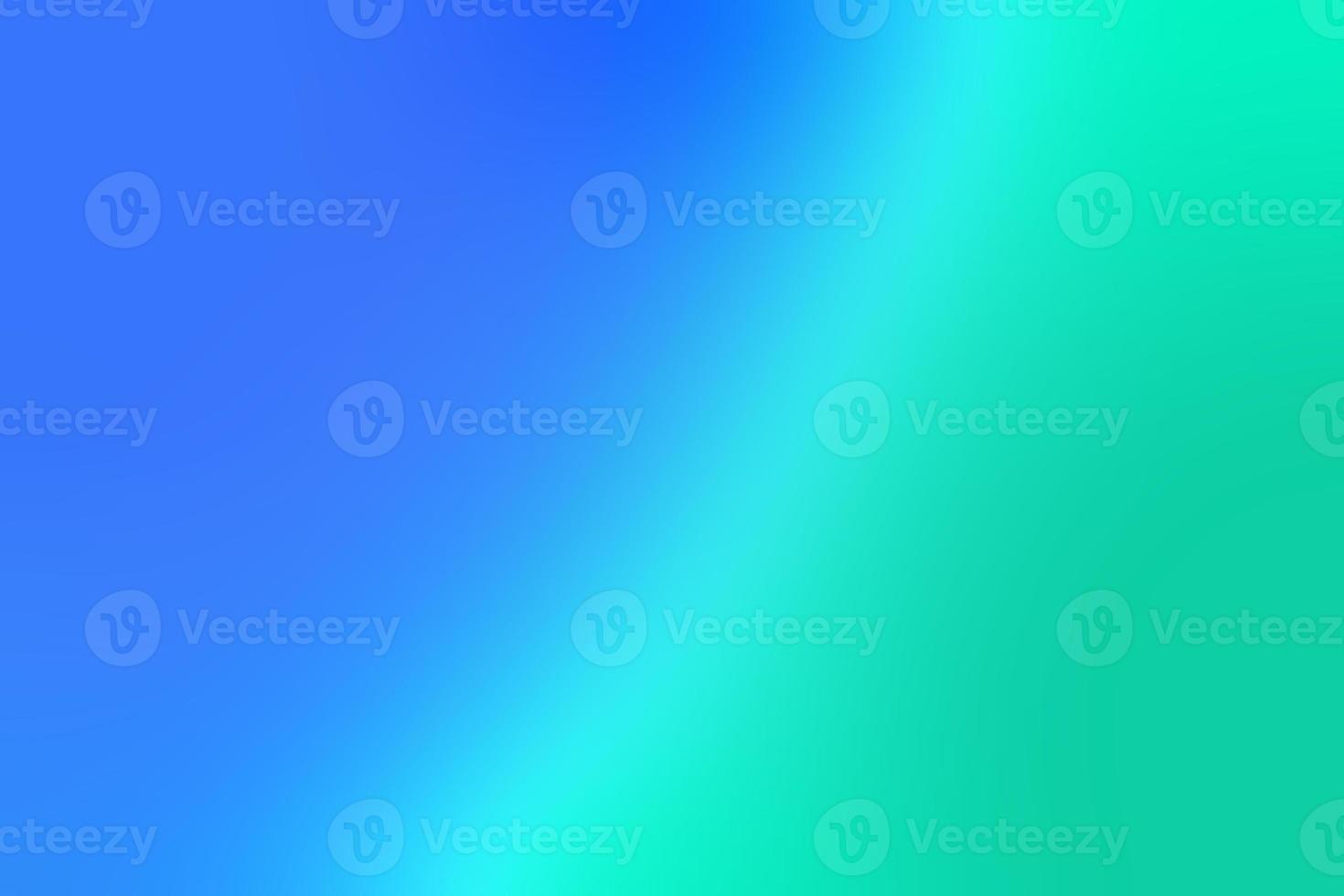 dégradé de couleurs bleues riches au vert photo