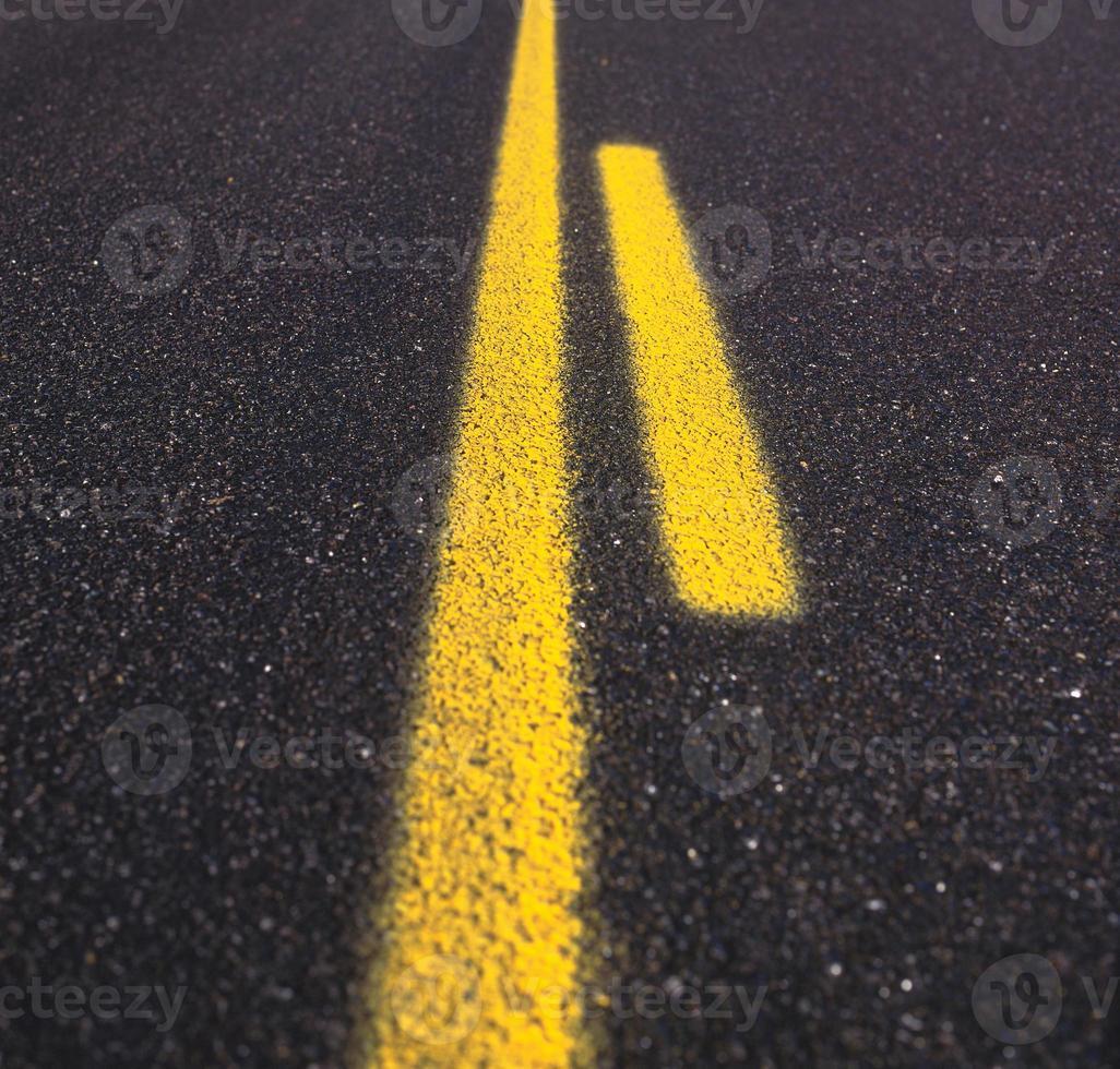 texture de route asphaltée photo