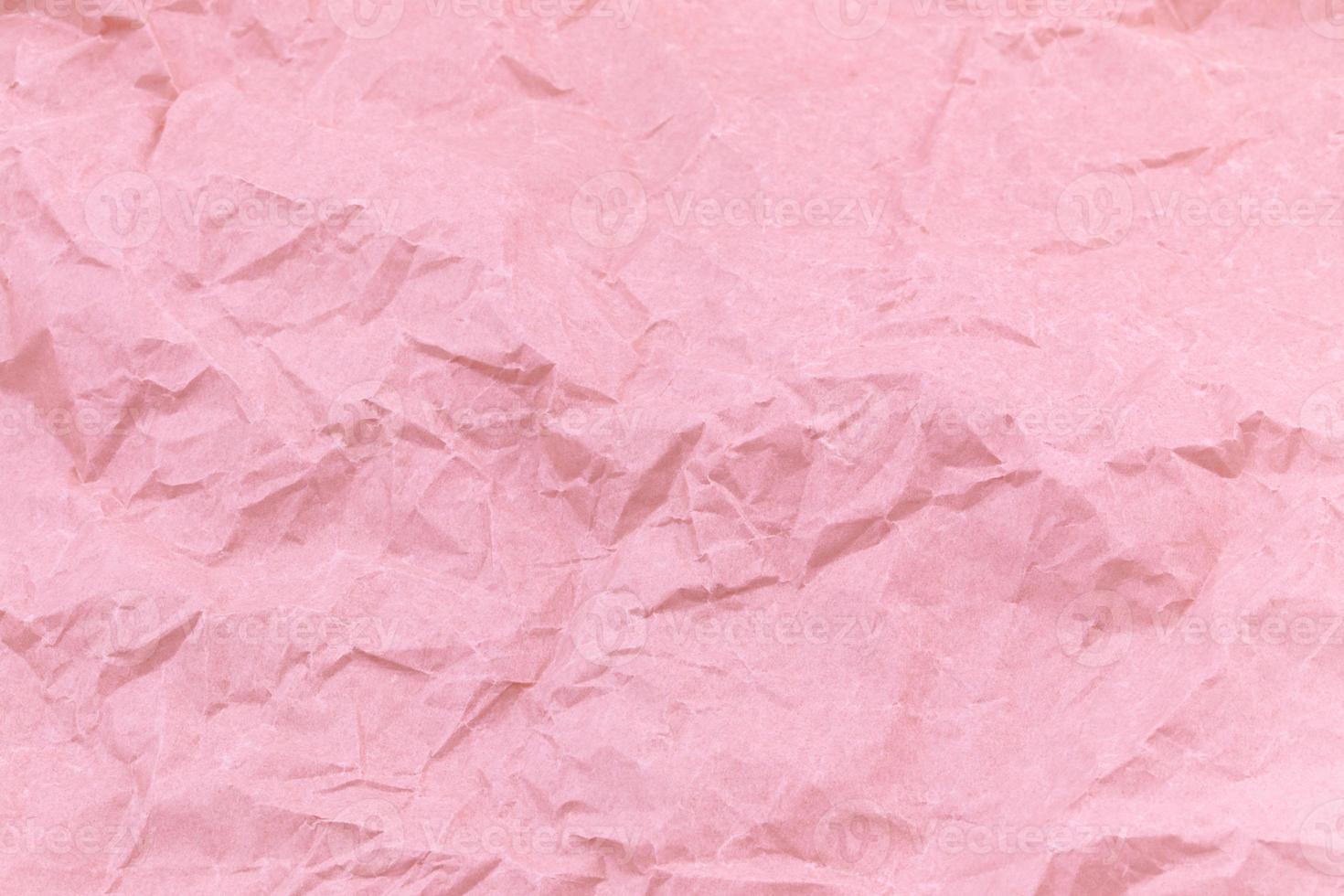 Texture de fond de papier froissé artisanat rose photo