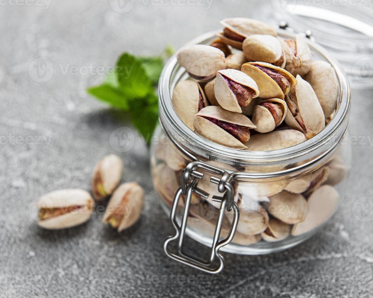 bocal aux pistaches photo