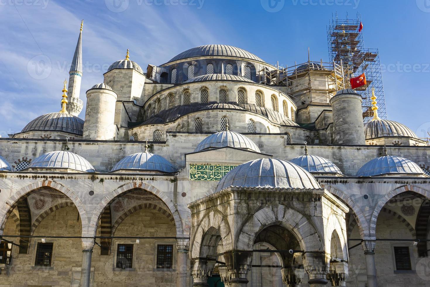 mosquée sultan ahmed mosquée bleue à istanbul turquie photo