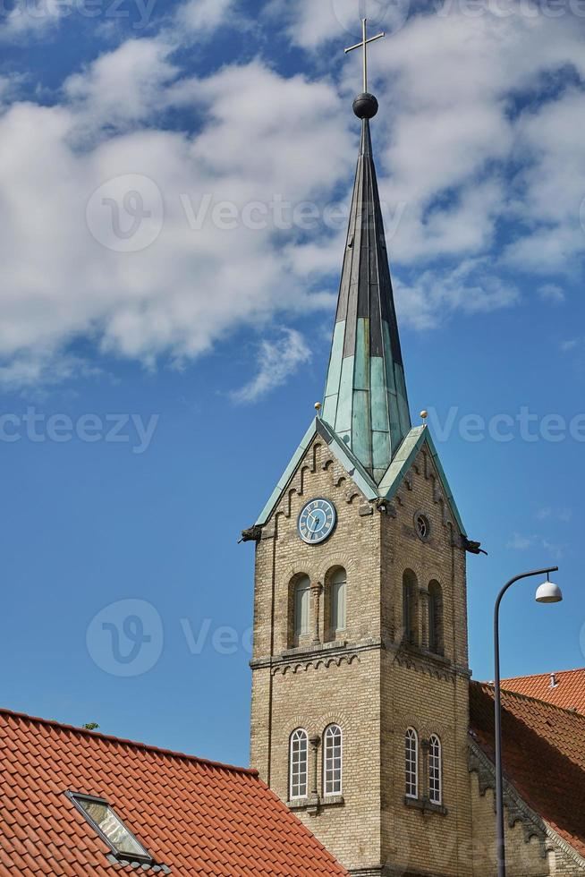 église de la ville de fredericia au danemark. photo