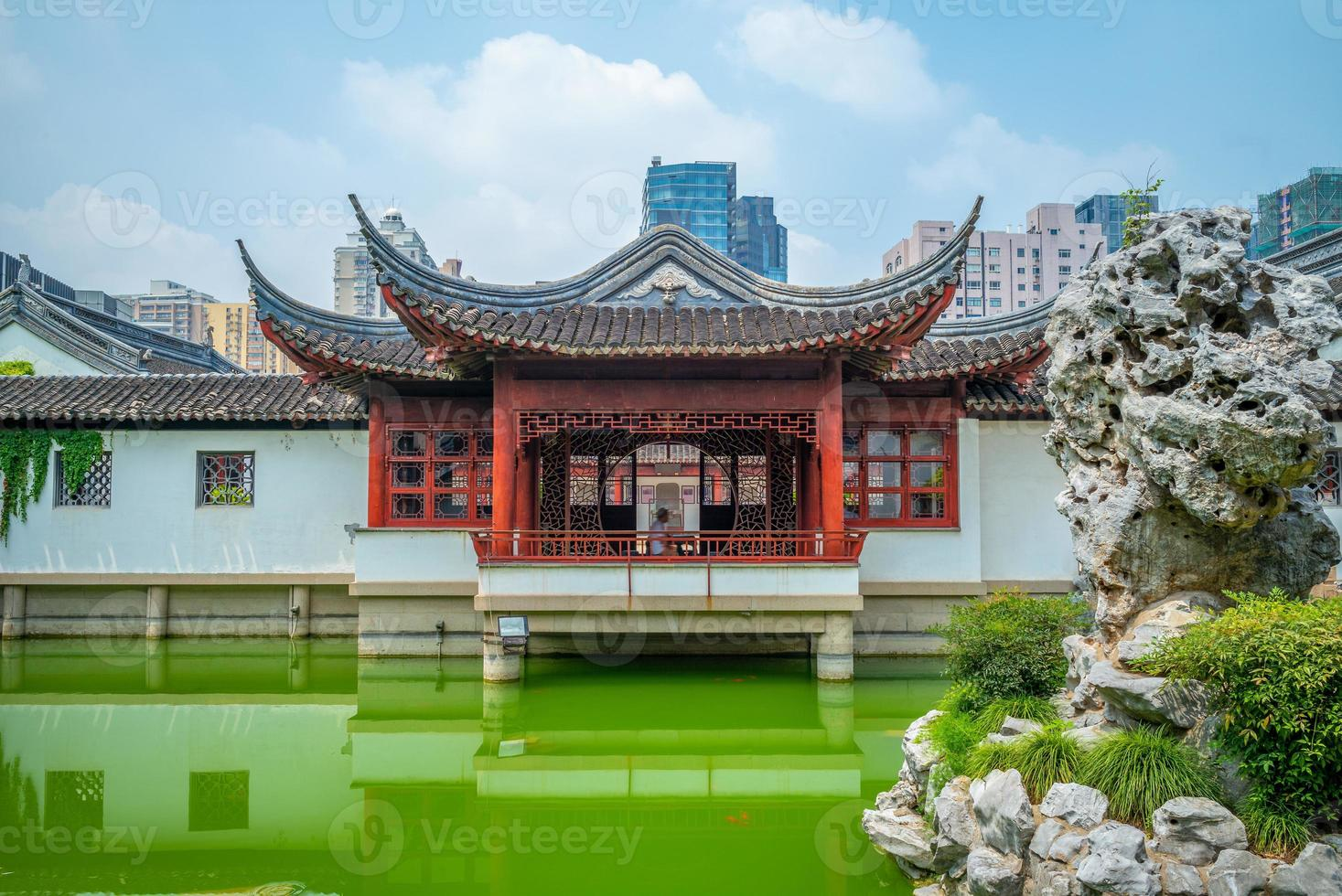 wen miao, temple confucéen, à shanghai, chine photo