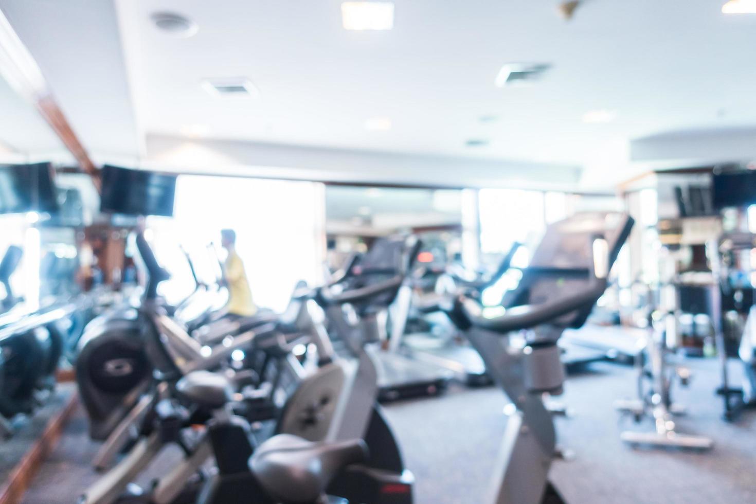 résumé, flou, gymnase, et, salle fitness photo