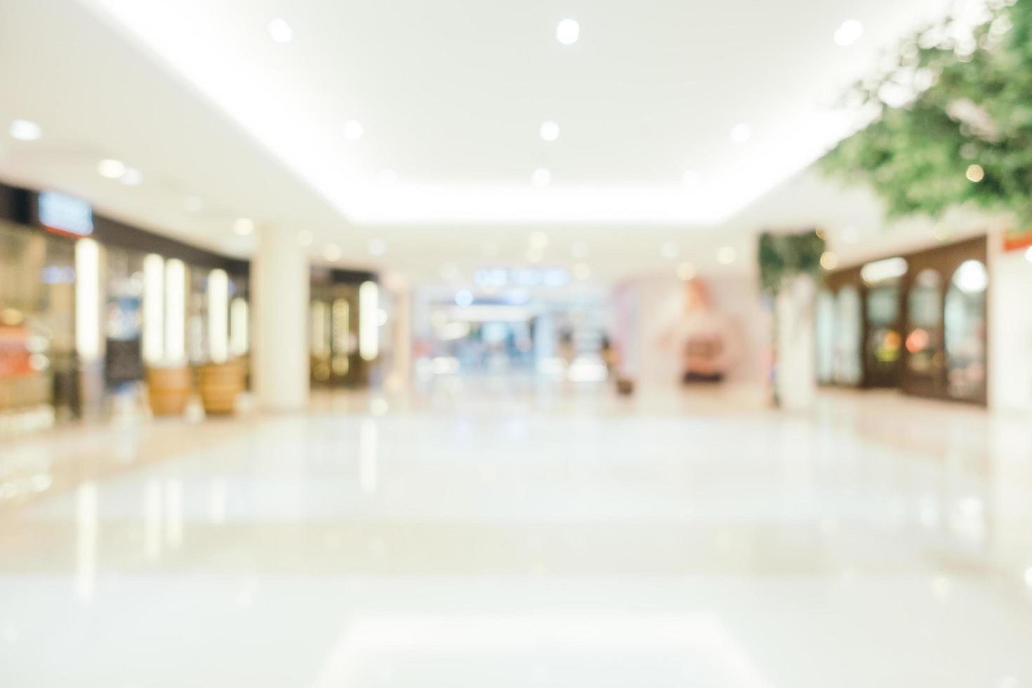 flou abstrait et centre commercial de luxe défocalisé de l'intérieur du grand magasin pour le fond photo