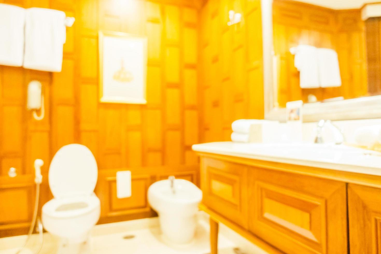 flou abstrait et toilettes et salle de bain défocalisés photo
