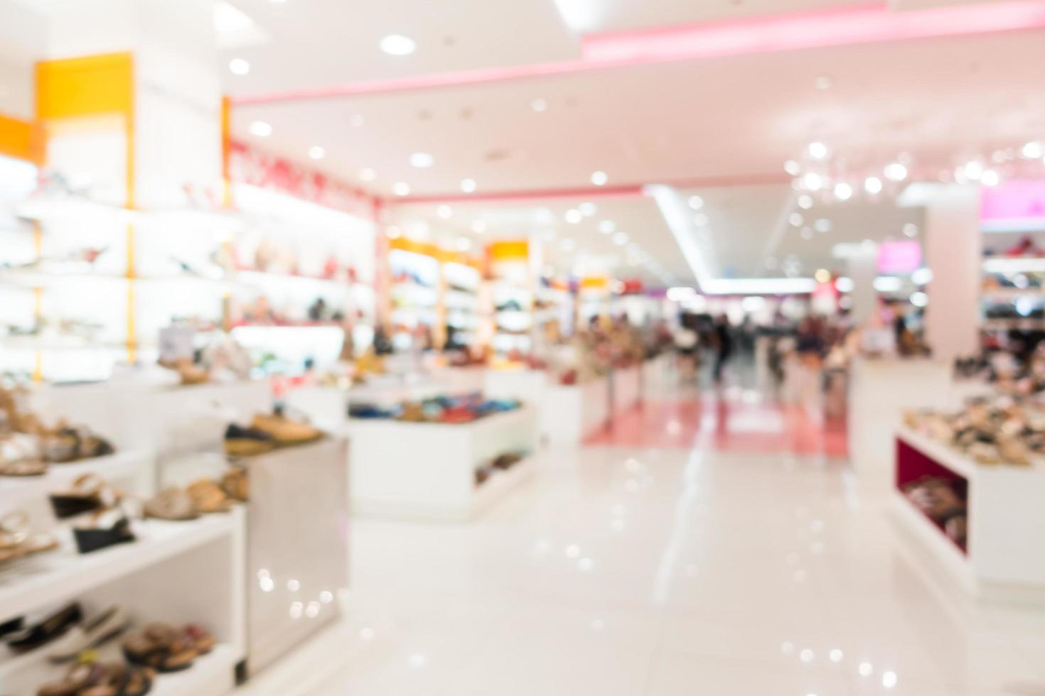flou abstrait et centre commercial défocalisé photo
