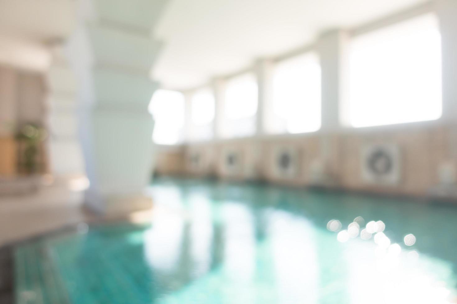 piscine flou abstrait photo