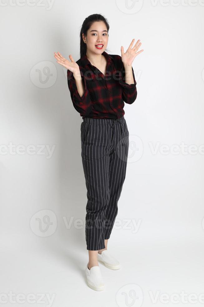 femme en studio photo