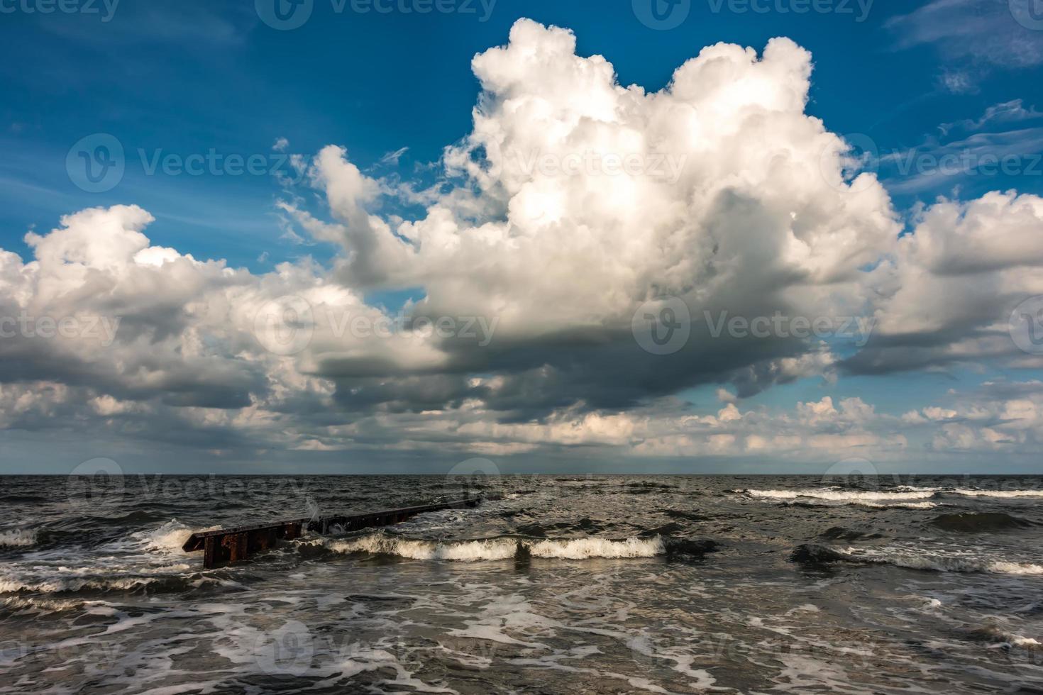 belle île de chasse plage de caroline du sud photo