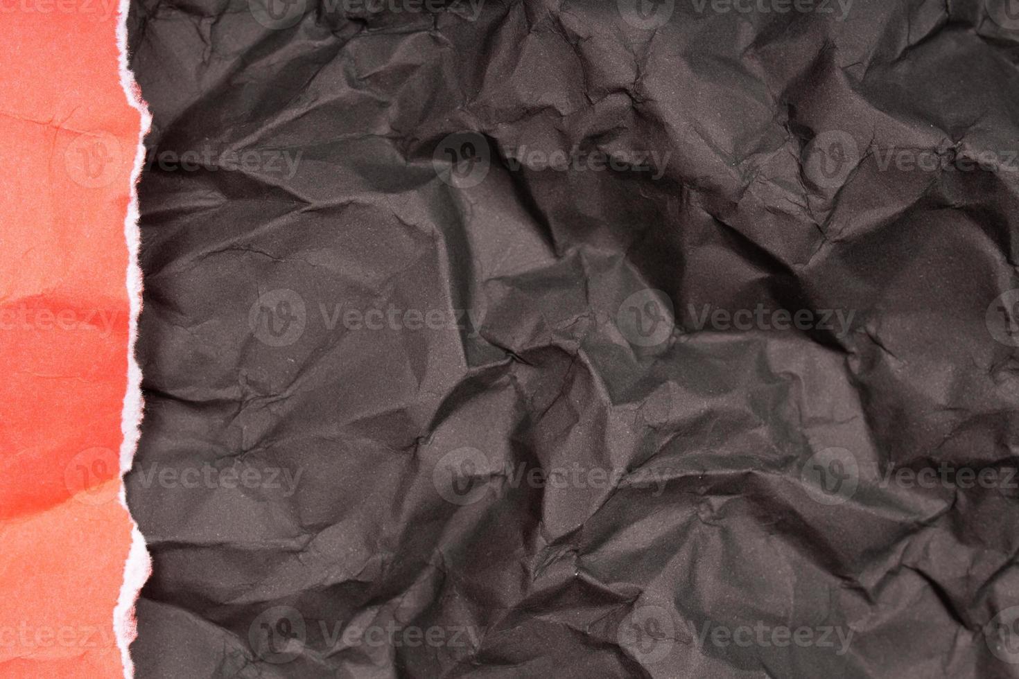 texture ou fond de papier froissé détaillé photo