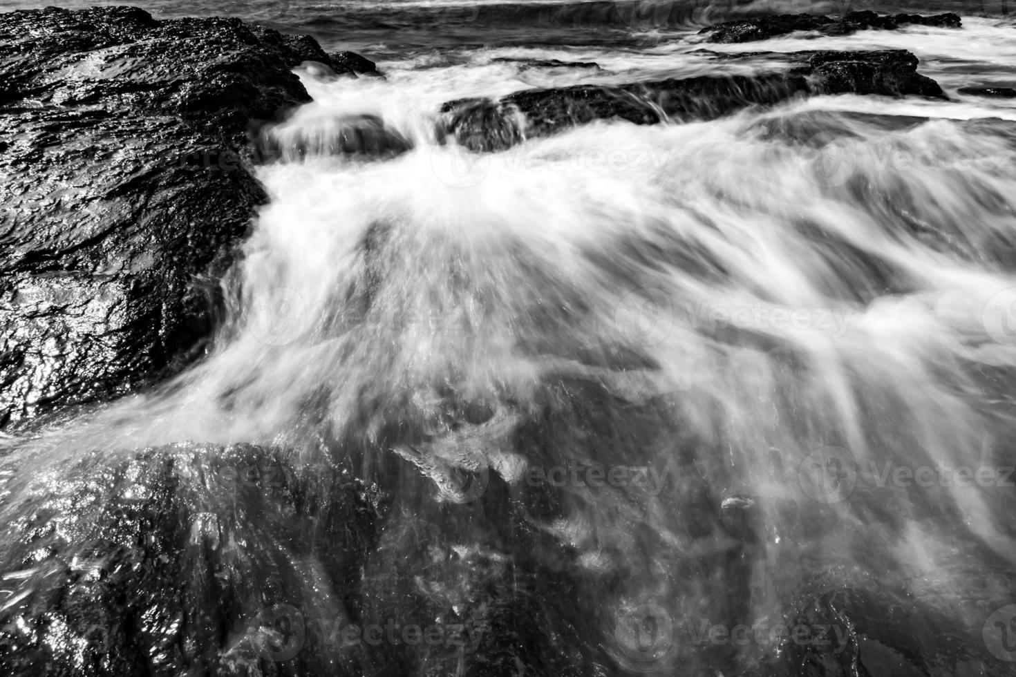 côte rocheuse à newport rhode island photo