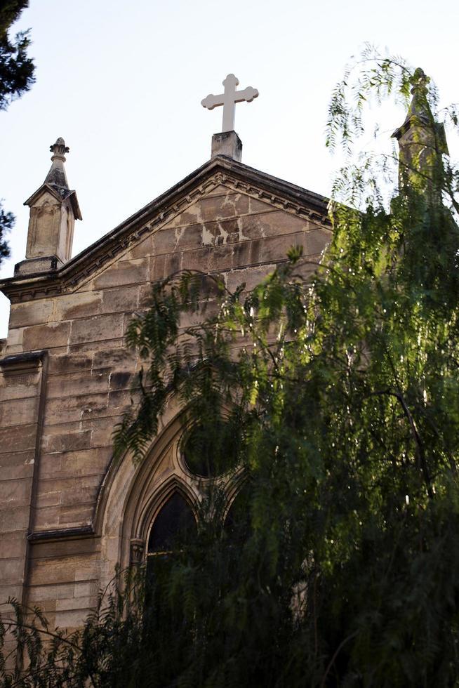 vintage historique christianisme temple église photo