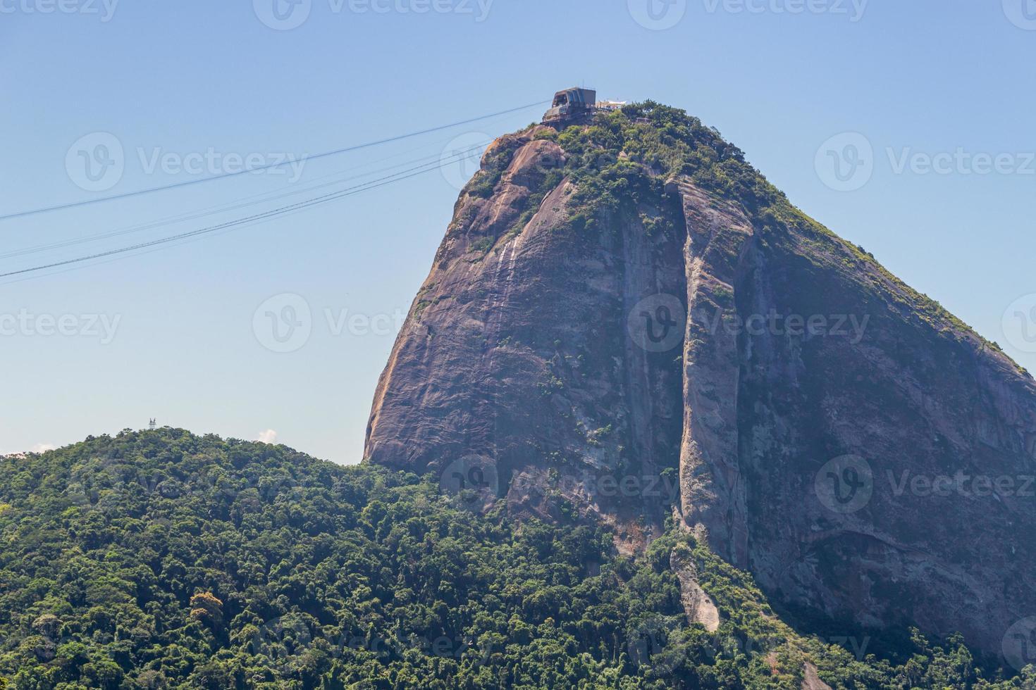 Pain de sucre à Rio de Janeiro, Brésil photo