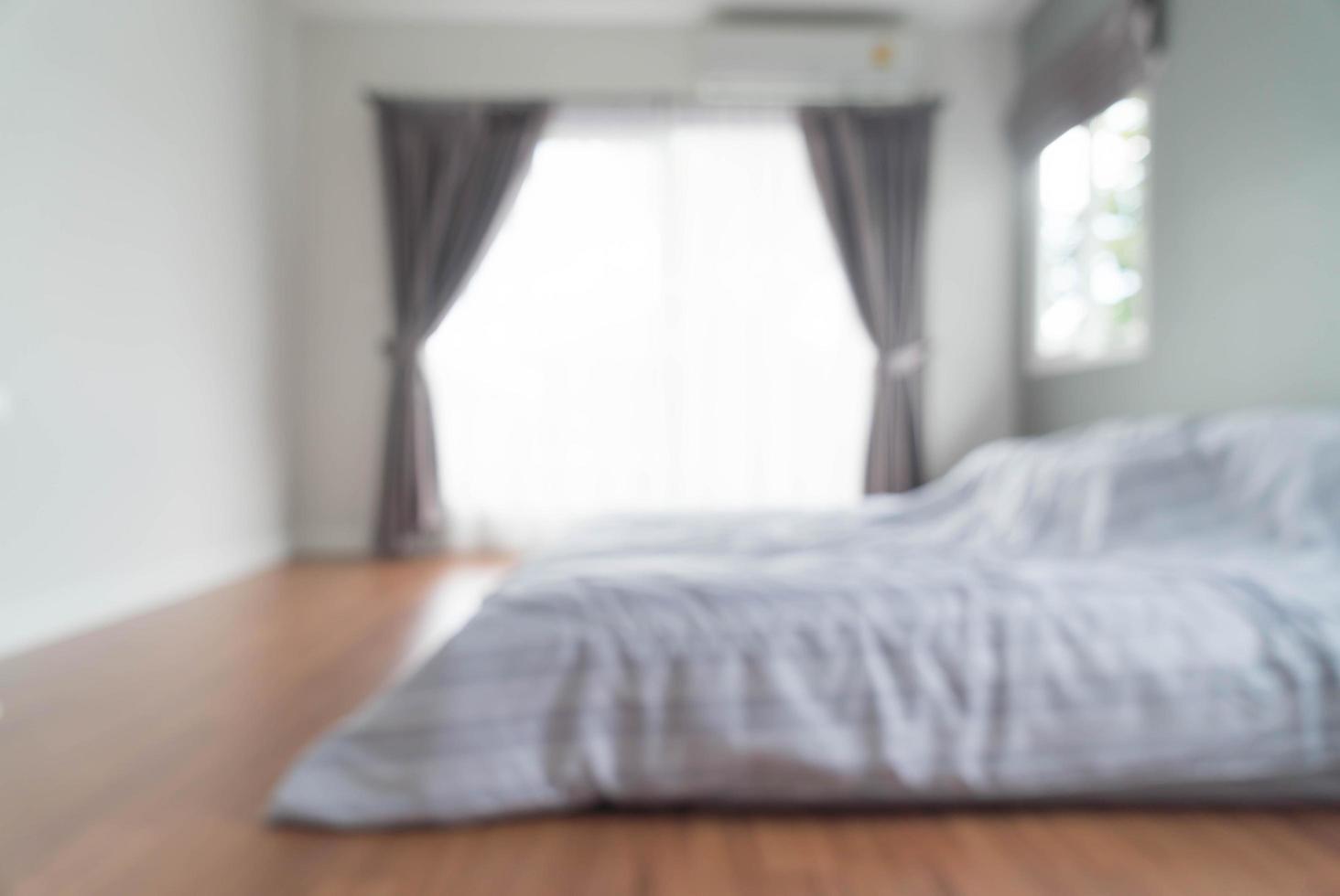 abstrait flou intérieur de la chambre photo