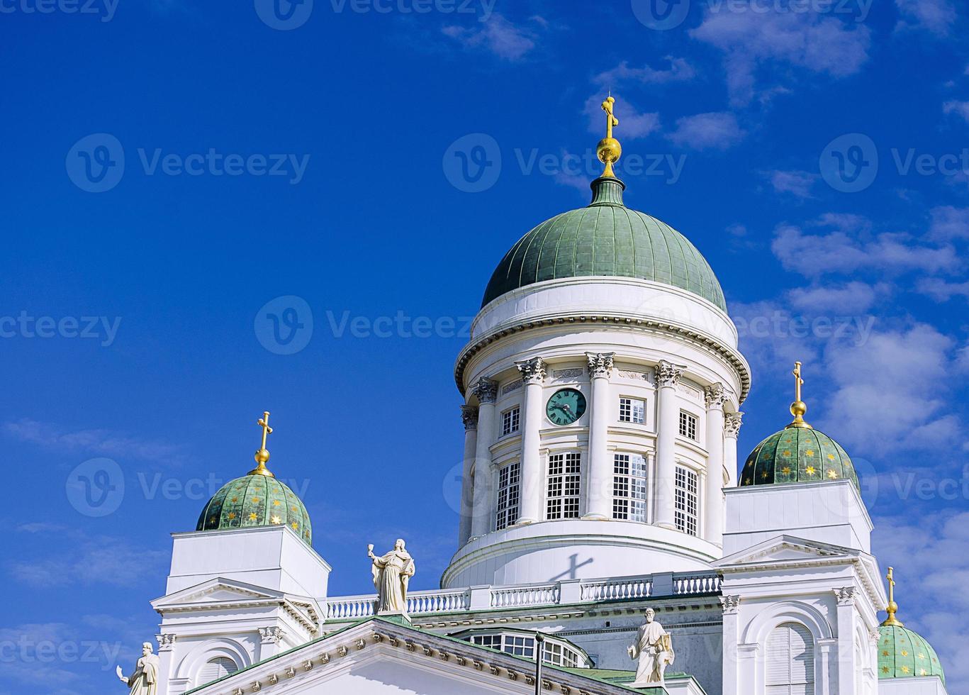 cathédrale de st. nicolas. église. photo