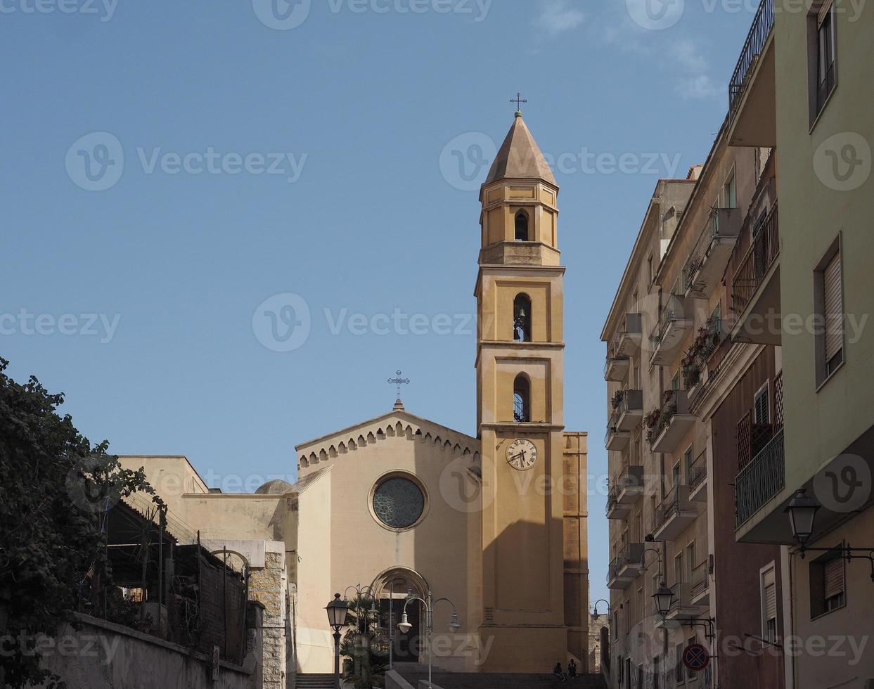 Église de Santa Eulalia à Cagliari photo