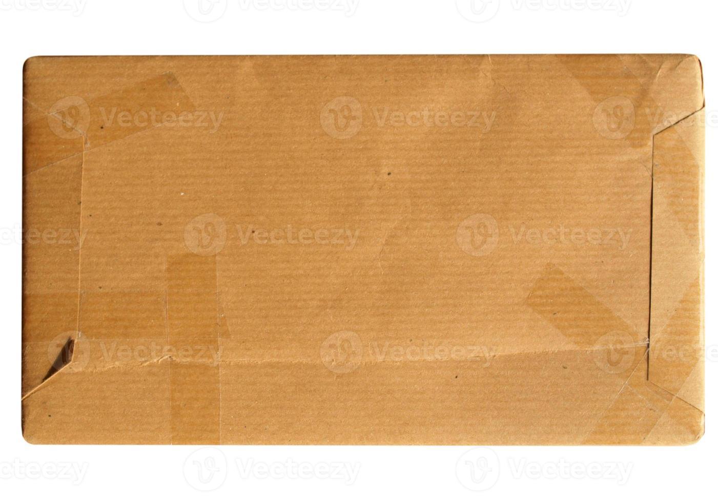 colis en carton ondulé photo