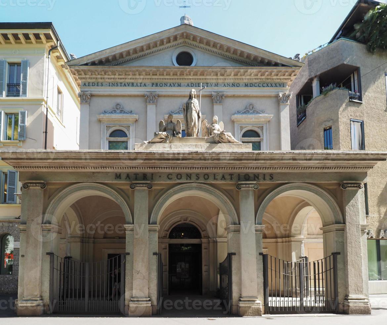 Église santa maria della consolazione à milan photo
