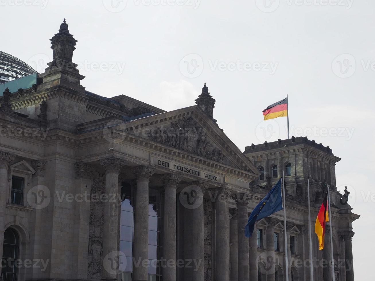 Parlement du Bundestag à Berlin photo
