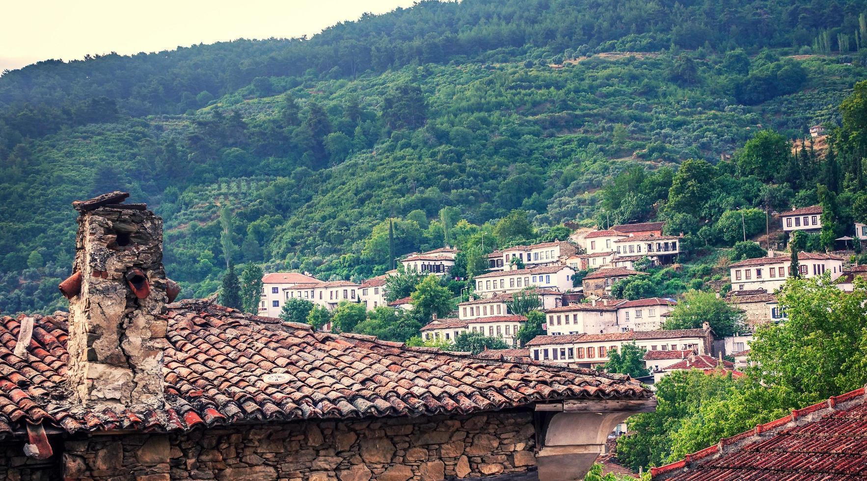 un beau centre de tourisme antique ville sirince photo