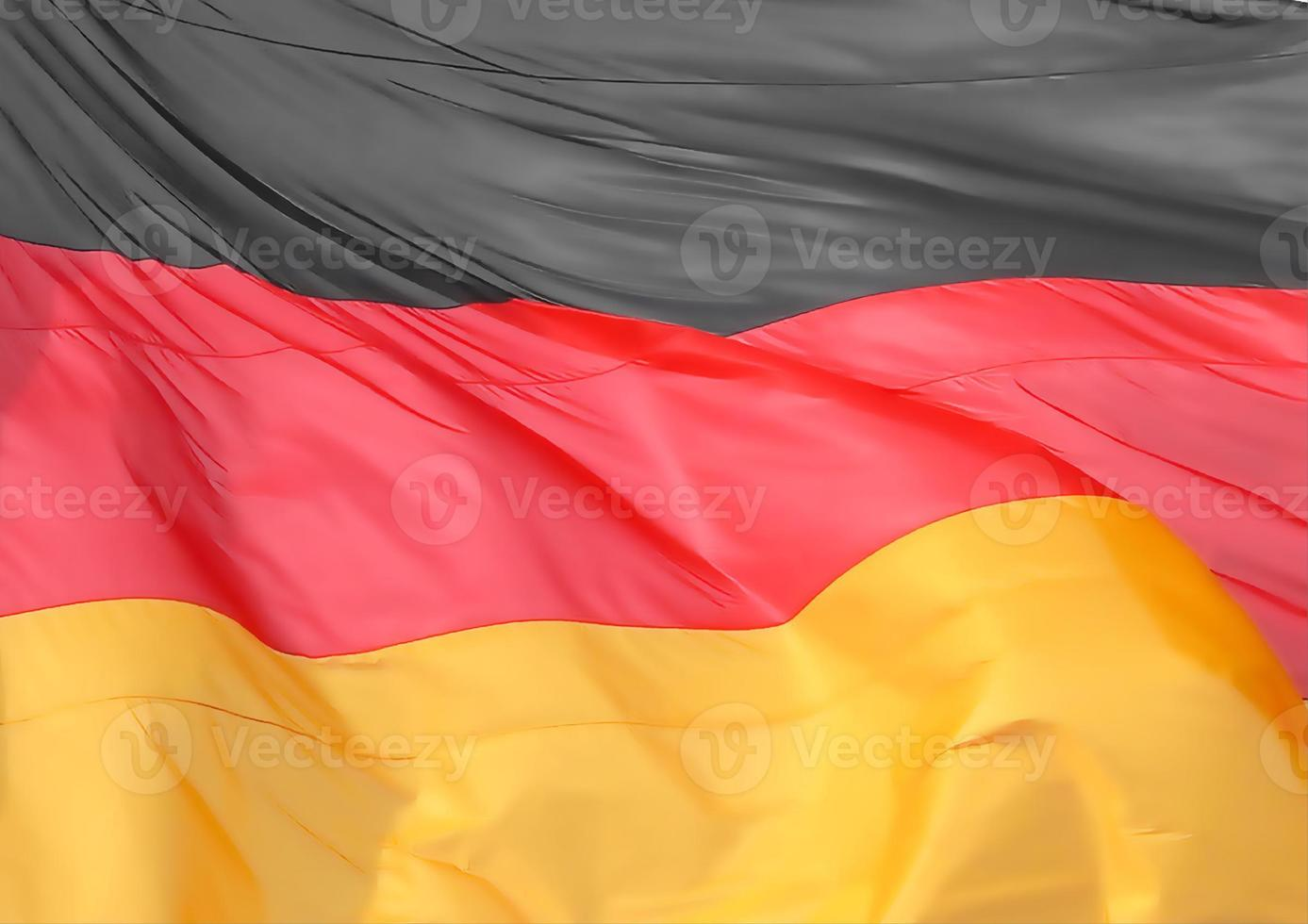 drapeau allemand de l'allemagne photo