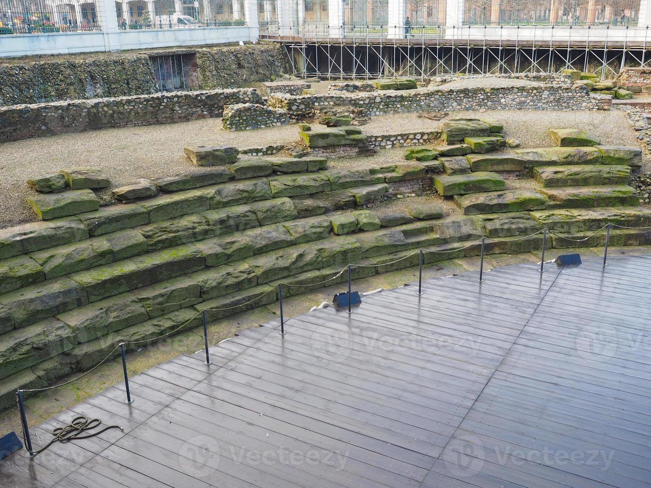 Théâtre romain de Turin photo