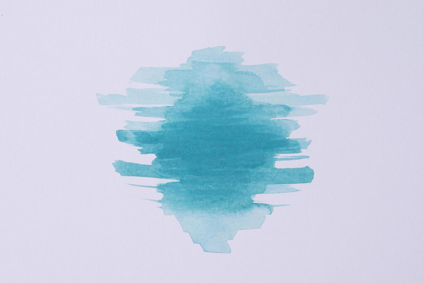 papier de peinture aquarelle vue de dessus photo