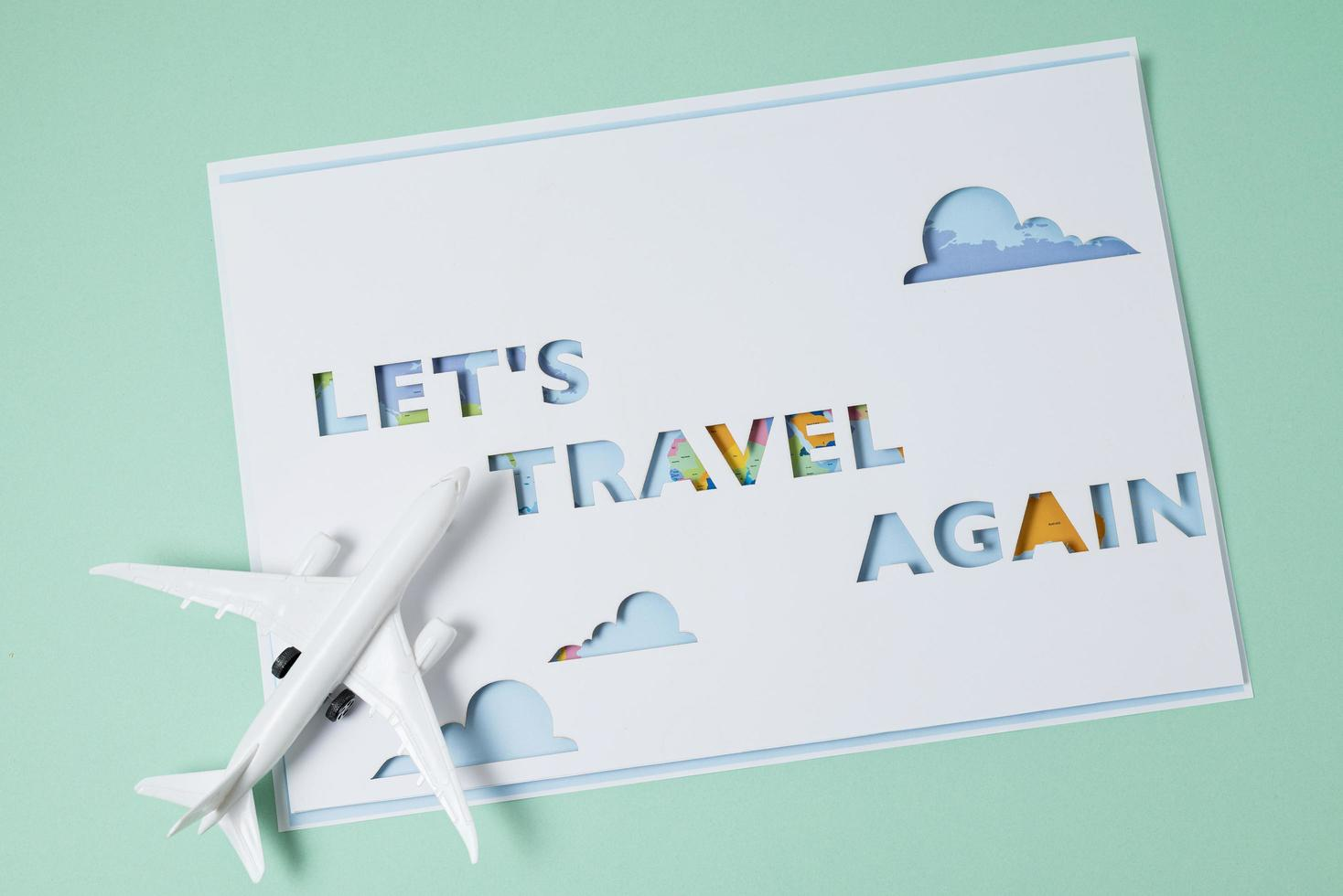 l'assortiment concept travel again photo