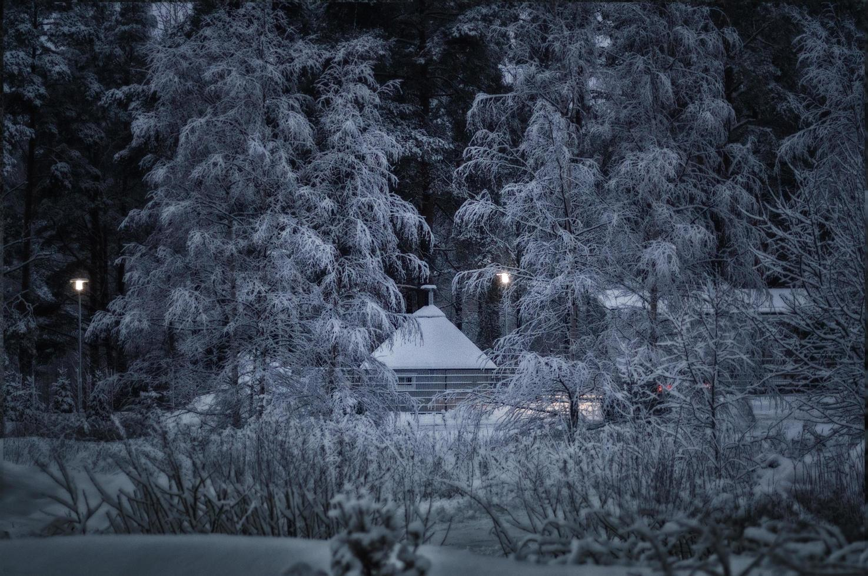 où vit le père Noël photo