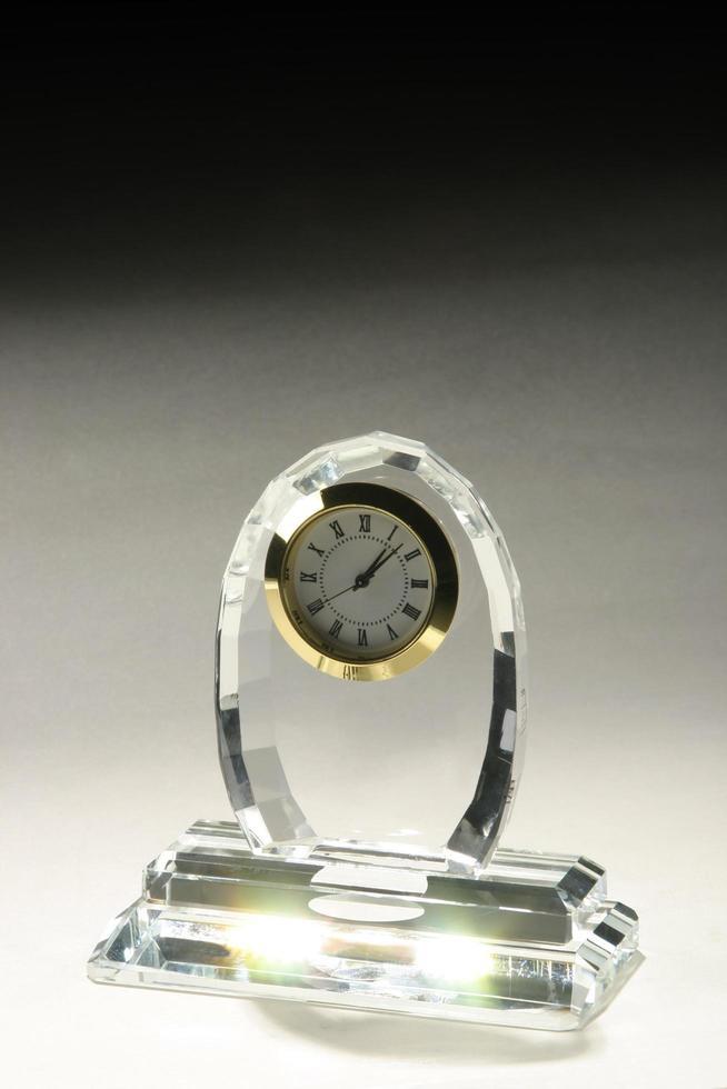 trophée en verre blanc transparent en acrylique, cristal ou verre photo