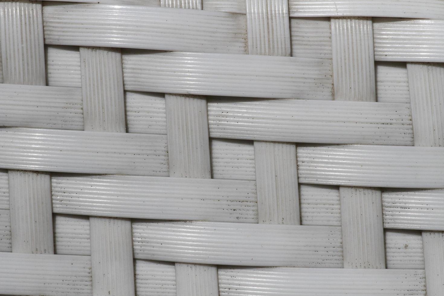 motif de maille de paille en plastique photo