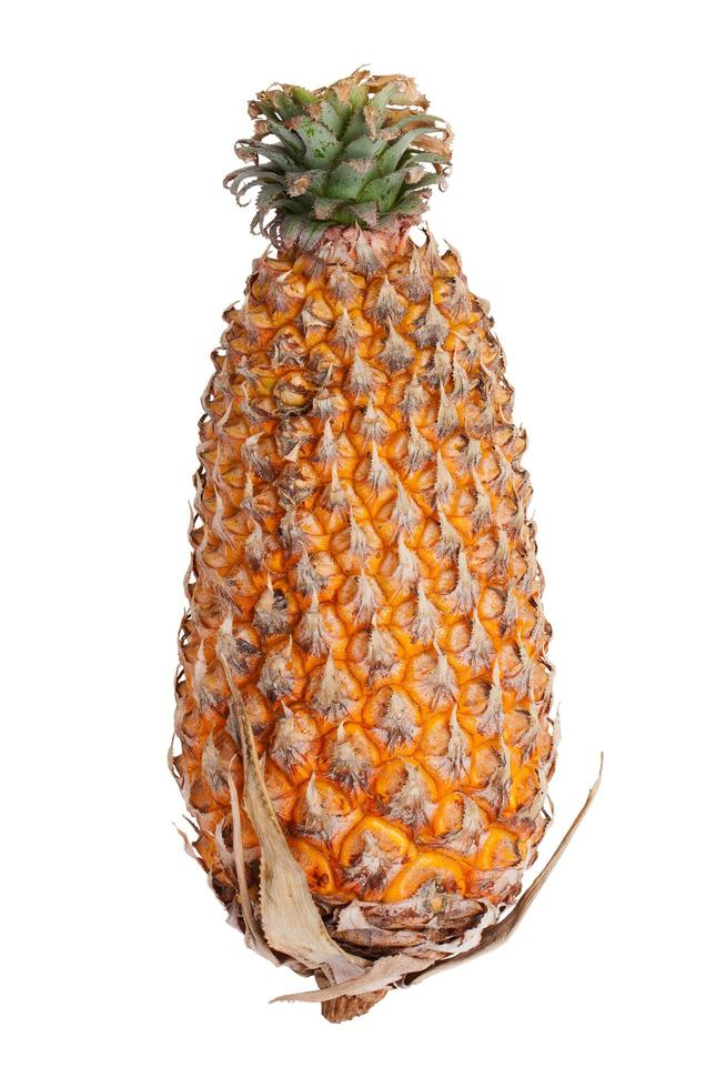 ananas mûr jaune photo