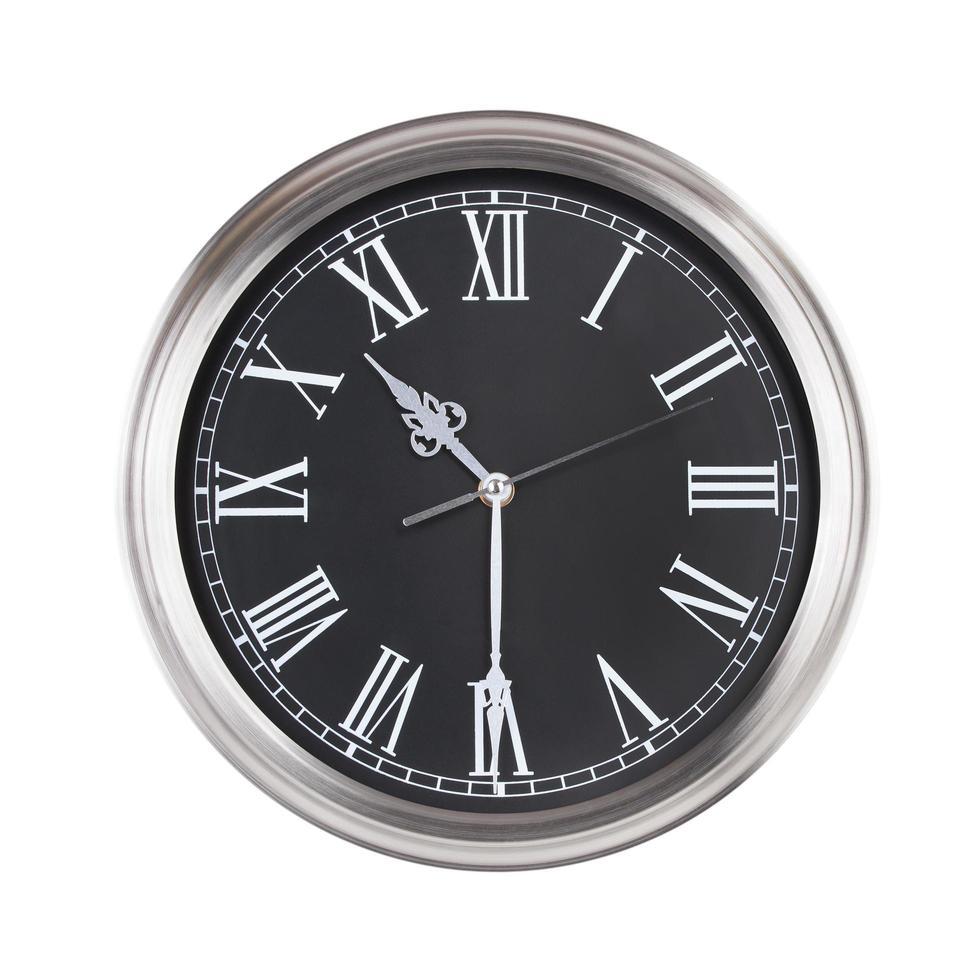 dix heures et demie sur l'horloge photo