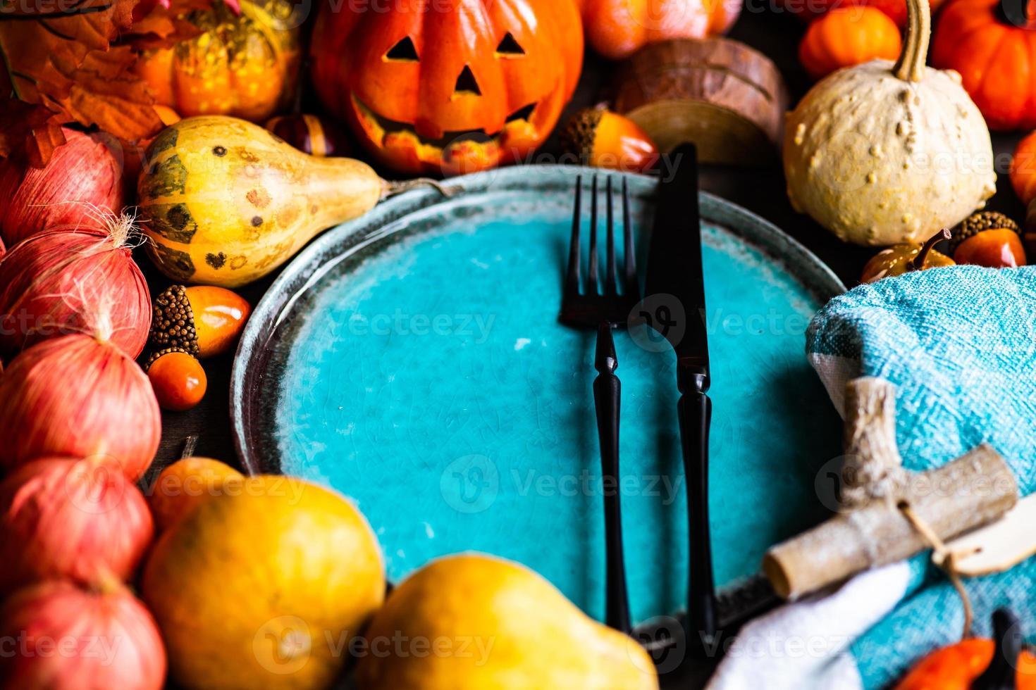 table d'automne photo
