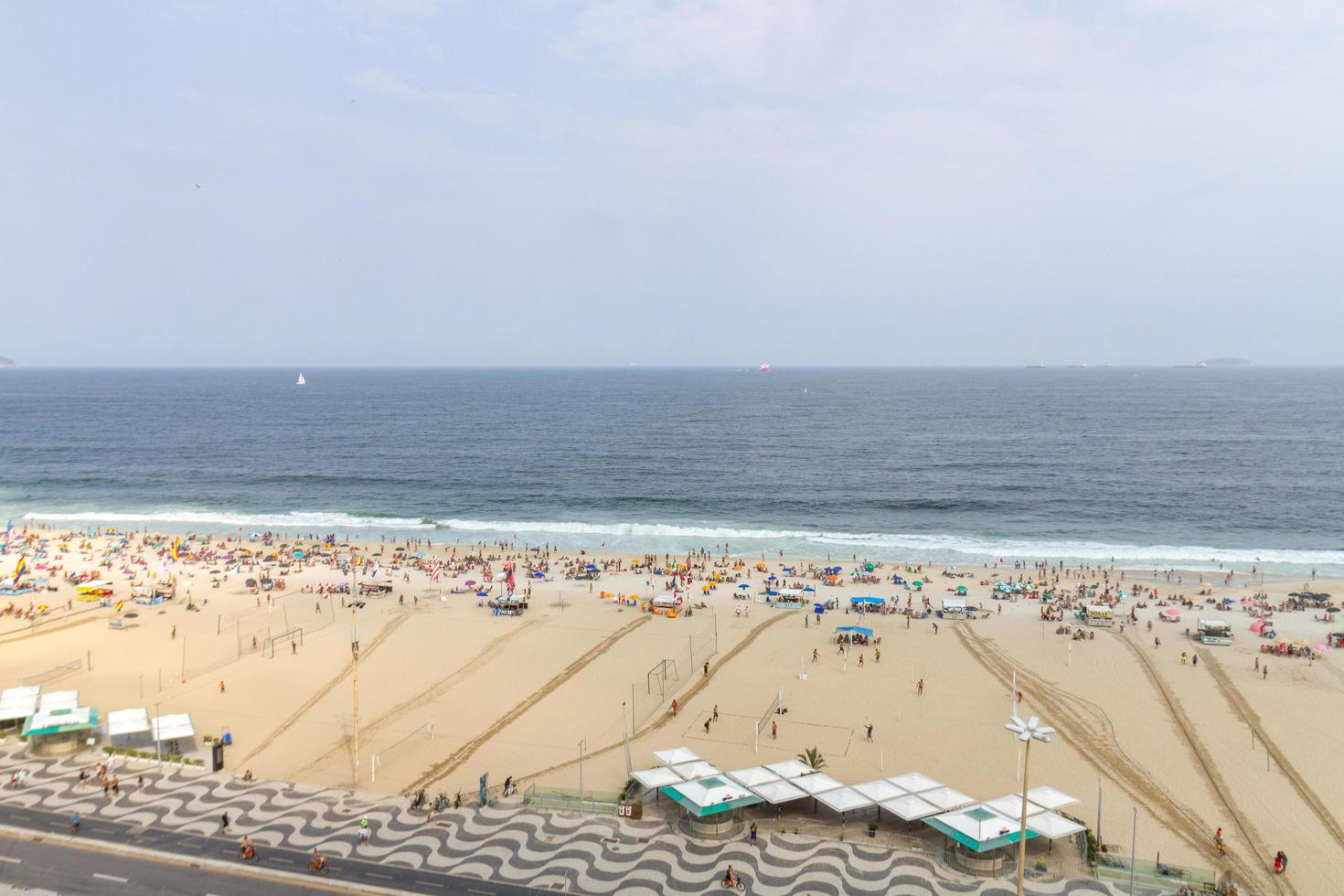rio de janeiro, brésil, 2015 -leme beach à copacabana photo