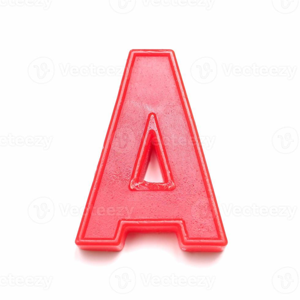 lettre minuscule magnétique a photo