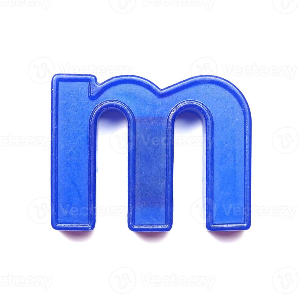 lettre minuscule magnétique m photo