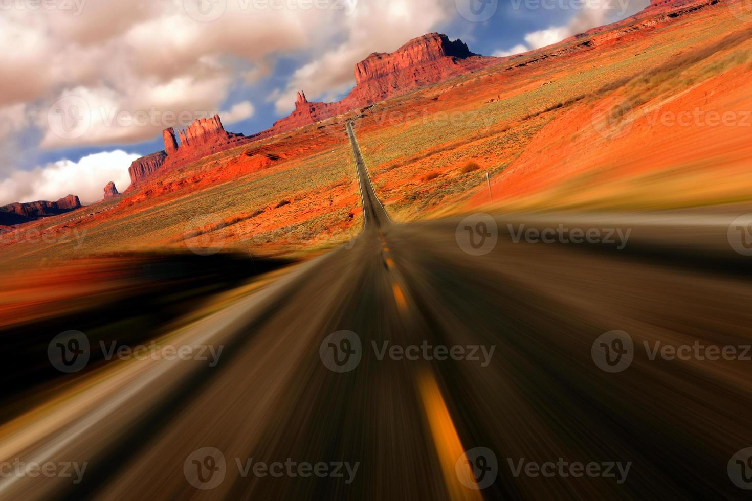 vue spectaculaire monument valley arizona mile 13 photo